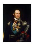 Portrait of Count Matvei Ivanovich Platov, (1757-181), 1814 Giclee Print by Thomas Phillips