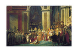 The Coronation of Napoleon at Notre-Dame De Paris on 2nd December 1804, 1807 Giclee Print by Jacques Louis David