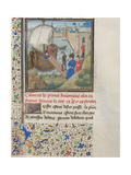 Bohemond I of Antioch Traveled Back to Apulia, 1460s Giclee Print