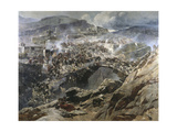 The Siege of Akhoulgo, 1888 Giclee Print by Franz Roubaud
