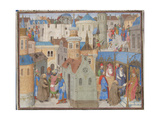 Peter the Hermit Hears Pope Urban II at the Council of Clermont, 1460S Giclee Print
