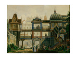 Stage Design for the Opera Askold's Grave by A. Verstovski, 1841 Giclee Print by Andreas Leonhard Roller