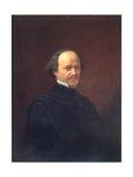 Portrait of the Composer Alexander Dargomyzhsky (1813-186), 1869 Giclée-Druck von Adrian Markovich Volkov