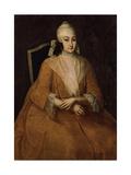 Portrait of Anna Leopoldovna, Regent of Russia (1718-174), Between 1740 and 1746 Giclée-Druck von Ivan Yakovlevich Vishnyakov