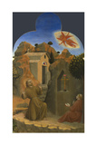 The Stigmatisation of Saint Francis (From Borgo Del Santo Sepolcro Altarpiec), 1437-1444 Giclée-tryk af Sassetta,
