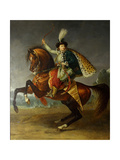 Equestrian Portrait of Prince Boris Nikolayevich Yusupov (1794-184), 1809 Giclee Print by Antoine-Jean Gros