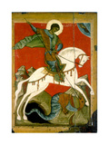 Saint George and the Dragon, Late 14th Century Gicléedruk
