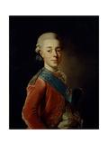 Portrait of Grand Duke Pavel Petrovich (1754-180), 1776 Giclee Print by Alexander Roslin