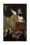 Sermon of Saint Vincent Ferrer, Early 17th Century Giclee Print by Francisco Ribalta