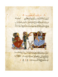 The Doctor's Office (Folio from an Arabic Translation of the Materia Medica by Dioscoride), 1224 Lámina giclée por  Abd as-Samad