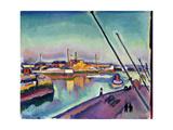 Notre-Dame Embankment, Le Havre, 1908 Giclée-vedos tekijänä Georges Dupuis