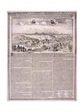 The Great Fire of London, 1666 Giclée-Druck von Nicolas Visscher