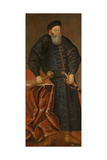 Portrait of Konstanty Ostrogski, Grand Hetman of Lithuania, End of 16th C Giclee Print