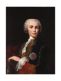 Portrait of the Singer Farinelli (Carlo Brosch) (1705-178) Giclée-tryk af Jacopo Amigoni