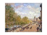 Quai Malaquais, Sunny Afternoon, 1903 Reproduction procédé giclée par Camille Pissarro