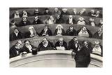 The Legislative Belly, 1834 Lámina giclée por Honore Daumier