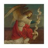 Archangel Gabriel (Panel from an Altarpiece: the Annunciatio), before 1511 Giclée-Druck von Gaudenzio Ferrari