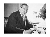 Arthur Conan Doyle (1859-193) Lámina giclée