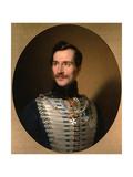 Portrait of Prince Mikhail Fyodorovich Golitsyn (1800-187), Early 1840S Giclee Print by Sándor Kozina