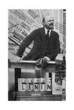 Cover of the of the Catalogue of the Soviet Union Pavilion on International Presse Exhibition Impressão giclée por El Lissitzky