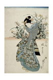 The Feast of Seven Herbs, Early 19th Century Giclee Print by Keisai Eisen