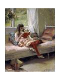 Good Friends, 1881 Giclee Print by Albert Gustaf Aristides Edelfelt