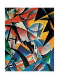 Painting Architectonics, 1920 Giclée-tryk af Lyubov Sergeyevna Popova