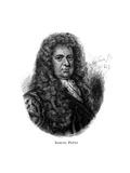 Samuel Pepys, English Diarist Lámina giclée