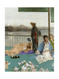 Variations in Flesh Colour and Green: the Balcony, C. 1870 Reproduction procédé giclée par James Abbott McNeill Whistler