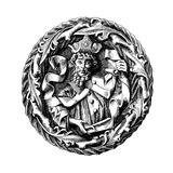 Dietrich Kagelwit (Ca 1300-136), Archbishop of Magdeburg Reproduction procédé giclée