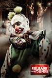Release The Hounds Clown Poster
