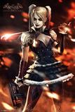Batman Arkham Knight: Harley Quinn Fire Posters