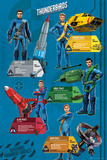 Thunderbirds Are Go Profiles Posters