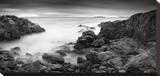 Rocky Coastline Stretched Canvas Print by Michael Hudson