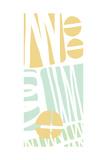 Multi Shapes II Kunstdrucke von Linda Woods