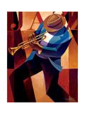 Swing Metalldrucke von Keith Mallett