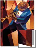 Swing Kunstdrucke von Keith Mallett