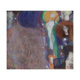 Ghost Lights Giclée-Druck von Gustav Klimt