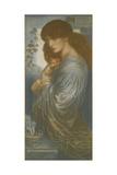 Proserpine Giclee-trykk av Dante Gabriel Rossetti