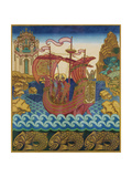 The Ship Giclee-trykk av Ivan Yakovlevich Bilibin