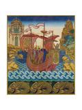 Das Schiff Giclée-Druck von Ivan Yakovlevich Bilibin