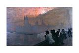 Westminster Giclee Print by Giuseppe De Nittis