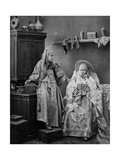 Girls in Russian Dress, C1870s-C1880s Giclee Print by Andrei Osipovich Karelin