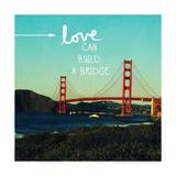 Love Honor Cherish Stampa di Linda Woods