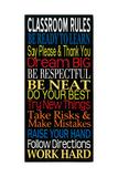 Classroom Rules Stampe di Erin Deranja