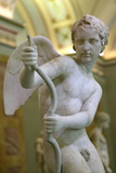 Statue of Eros Drawing His Bow, 2nd Century Fotografisk tryk af  Lysippos