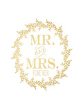 Mr and Mrs Prints by Jo Moulton