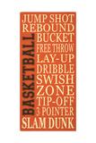 Basket-Ball Prints by Erin Deranja