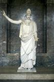 Pallas Athena, Goddess of Wisdom Fotografisk tryk