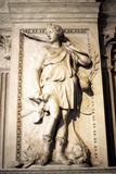 Statue of Artemis, Greek Goddess of Hunting Fotografisk tryk